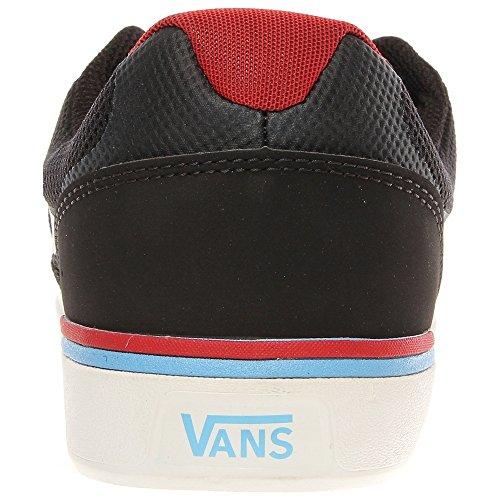 Vans Locus Black Red Schwarz