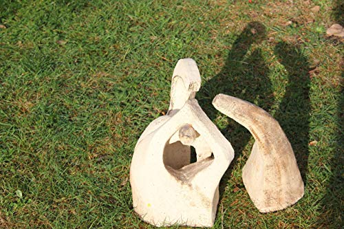 Skulptur aus 2 Elementen, Geborgenheit, Schutz, Zuversicht