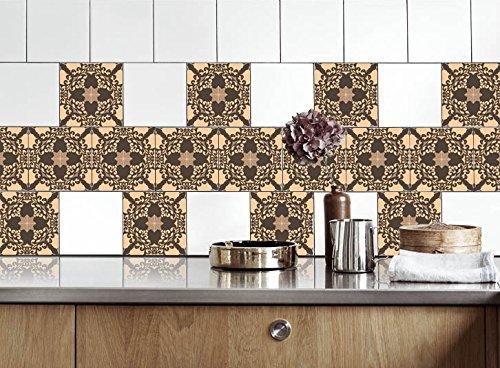 Küche Fliesen Aufkleber Alte Mozaics Vinyl Film Für Badezimmer Wand Fliesen  Ideen Verschiedene Größen   16pcs