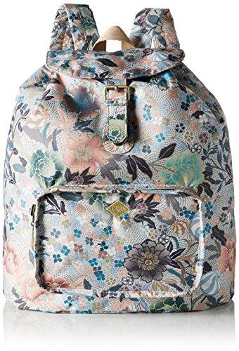 oilily-oilily-folding-classic-backpack-sac-a-main-porte-au-dos-pour-femme-beige-beige-melon-sorbet
