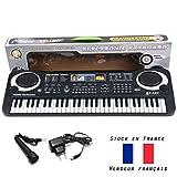 Piano synthétiseur 61 touches enfant synthé clavier musique éveil jeu jouet