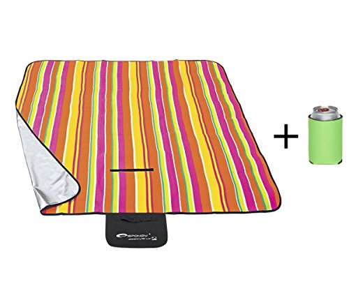 Spokey® Set Picknickdecke/Stranddecke ab 11,95 € versch. Motive und GRÖSSEN Isoliert Faltbar Trageschlaufe Picknick Strand Park Natur See Freibad