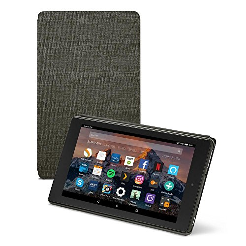 Amazon Fire HD 8-Hülle (8-Zoll-Tablet, 7. & 8. Generation - 2017 & 2018), Schwarz
