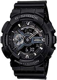 Casio G-Shock Analog-Digital Black Dial Men's Watch - GA-110-1BDR (G