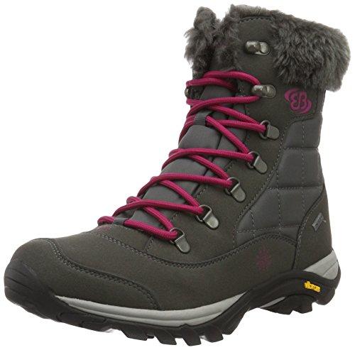 Bruetting Himalaya, Botas de Nieve para Mujer, Gris (Anthrazit/Pink Anthrazit/Pink), 41 EU