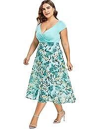 4ad586f25ca7 Amazon.it  vestiti da sera - 5XL   Vestiti   Donna  Abbigliamento