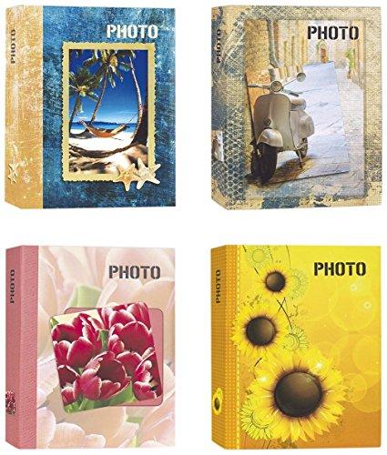 Zep Album photo à pochettes 13 x 19 cm. pour 200 photos 13 x 19, 13 x 18, 13 x 17, 12 x 18 - Photo motifs variés - Tournesol
