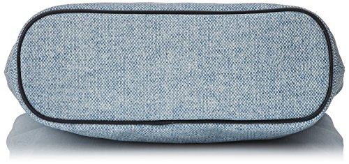Timberland Damen Tb0m3150 Schultertasche, 11x37x30 cm Blau (Light Blue)