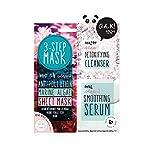 Oh K.–3-step antinquinamento alghe misura viaggio Face Sheet Mask set