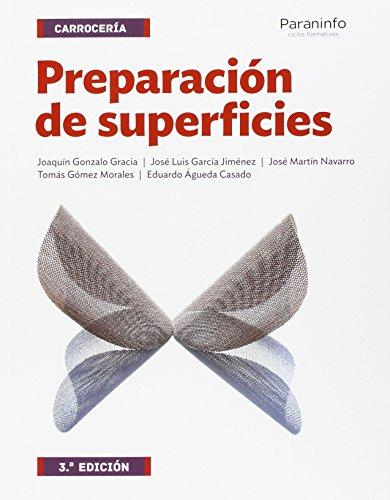 Preparación de superficies 3.ª edición por EDUARDO ÁGUEDA CASADO
