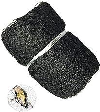 easyshoppingbazaar Anti Bird Net with Strong Nylon Strings (Black, Easy 8095), 20 x 10ft