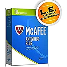 McAfee Antivirus 2017 MAV17SM10RAA - Software De Seguridad, 10 Dispositivos