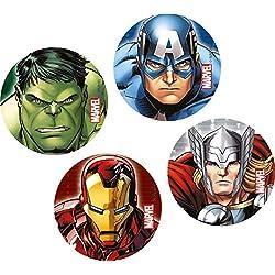 Unique Party Marvel Los Vengadores superhéroes confeti fiesta de cumpleaños de los niños / Confetti