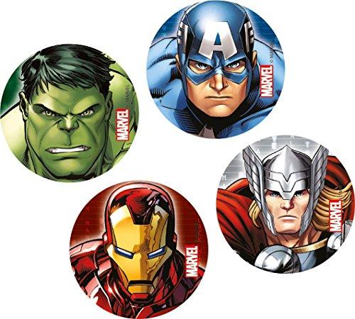 Unique Party Marvel Los Vengadores superhéroes confeti...