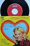 """ich weiss, ich verlieb´mich noch heute in dich / sonne und wein / peggy march / Bildhülle / DECCA # D 29 141 / 7"""" Vinyl Single-Schallplatte"""