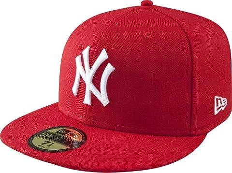 New Era Mlb Basic New York Yankees - Chapeau pour Homme, couleur Multicolore, taille 8 0/0