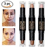 Concealer, Concealer Contour, 6 Colour Make up Concealer contouring stift, 3PCS
