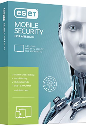 Eset Mobile Security & Antivirus, 1u 1 licenza/e Scatola Tedesca
