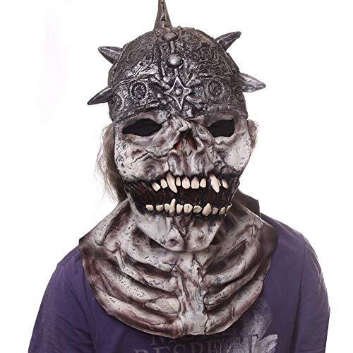 Circlefly Super Horror Maske Karneval Nacht Halloweenkostüm Kugel Phantom Maske Erwachsene Horror Kopf Gesetzt