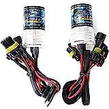 Bombillas de xenon HID - SODIAL(R)2 x Bombillas de xenon HID de sustitucion de lampara H7 55W 15000K