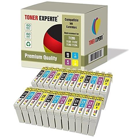 24 XL TONER EXPERTE® T1285 Druckerpatronen kompatibel für Epson Stylus