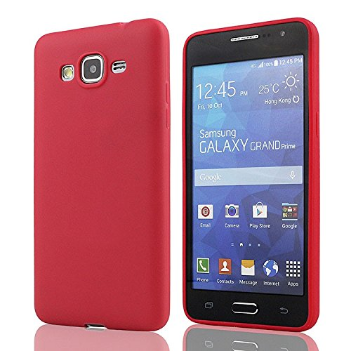 mStick Candy Color Ultra Slim Soft Silicon Back Cover For Samsung Galaxy Samsung Galaxy Grand Prime G530 Red- Pink  available at amazon for Rs.99