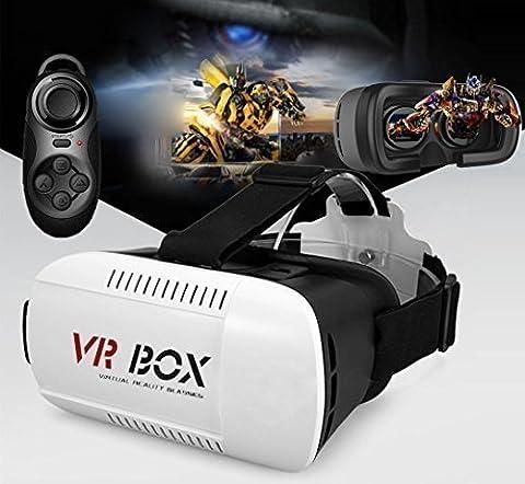 Liberté Sunglasses - Morjava®Lunettes vidéo 3D réalité virtuelle avec Bandeau