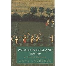 Women in England, 1500-1760: A Social History (Phoenix Giants)