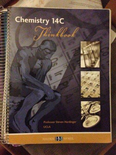 Download Chemistry 14C Thinkbook Organic Molecular