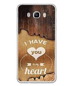 PrintVisa Designer Back Case Cover for Samsung Galaxy J5 (6) 2016 :: Samsung Galaxy J5 2016 J510F :: Samsung Galaxy J5 2016 J510Fn J510G J510Y J510M :: Samsung Galaxy J5 Duos 2016 (Love Lovely Attitude Men Man Manly)