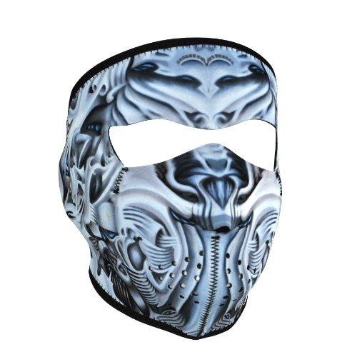 Zanheadgear Neopren 'biomechanische' Face Maske - Microfleece-gesichtsmaske