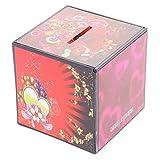 MagiDeal Durable Money Collecting Box Coin Cash Saving Piggy Bank Plastic Magic Prop Kits