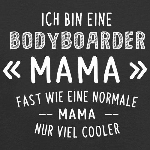 Ich bin eine Bodyboarder Mama - Herren T-Shirt - 13 Farben Schwarz
