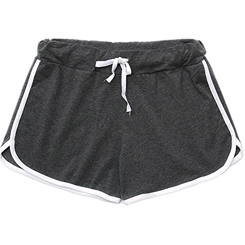 O-C Girls beach shorts summer three pants sport shorts (Panty Nylon-high-cut-white)