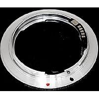 Pixtic - Bague d'adaptation [AF-Confirm] pour les objectifs Nikon vers les boitiers Canon EOS à monture EF/EF-S