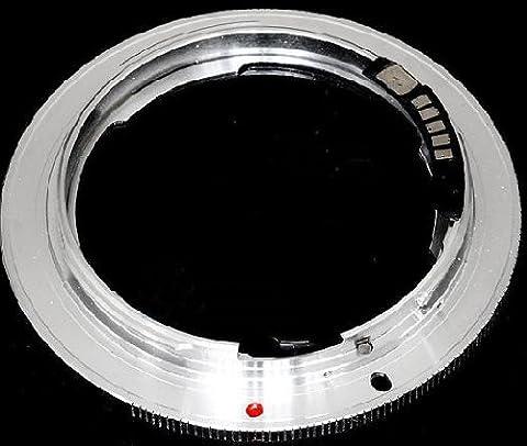 Pixtic - Bague d'adaptation [AF-Confirm] pour les objectifs Nikon vers les boitiers Canon EOS à monture