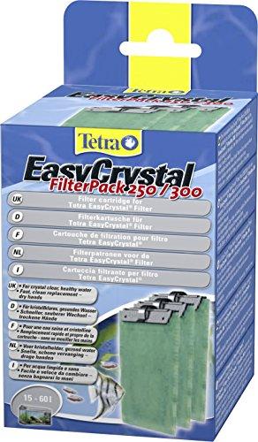 Preisvergleich Produktbild Tetra EasyCrystal Filter Pack 250/300 Filterpads (Filtermaterial für EasyCrystal Innenfilter, geeignet für Aquarien von 30 Liter), 3 Stück
