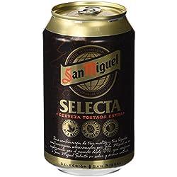 San Miguel Selecta - Cerveza Especial Rubia Lata 330 ml (1 unidad)