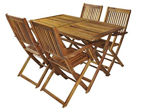 MALATEC Gartenmöbel Holz