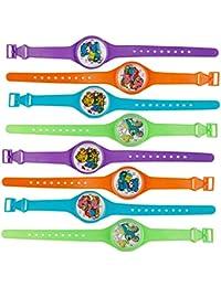 THE TWIDDLERS 45 Juguetes Reloj Pulseras Rompecabezas Laberinto Relojes para Niños - Rellenos De Juguete Detalles Regalos Cumpleaños Ninos Infantiles Favores La Piñata Y Media Color Surtido