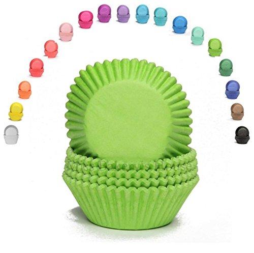 Papier-förmchen Muffinförmchen Cupcakeförmchen Muffin Kapsel Cupcake Liner (GRÜN - 75 Stück) (Grüne Cupcake-liner)