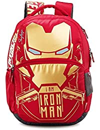 Skybags Sb Marvel Iron Man 32 Ltrs Red Casual Backpack