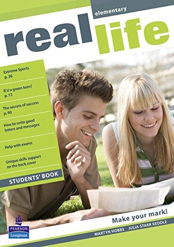 Real Life Global Elementary Students Book por Martyn Hobbs