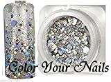 2,5g Holo-Glitter-Pailetten-Mix