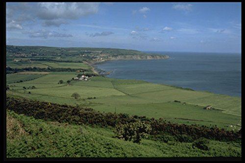 486002 View Across The Bay At Robin Hood's Bay Great Britain A4 Photo Poster Print 10x8