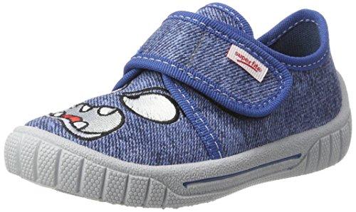 Superfit Bill, Sneakers basses garçon Bleu-vert