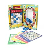 Magnetic Travel Bingo. Matching Toy for 2-5 year old boys and girl. Educational