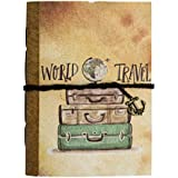SPCreation Travel Handmade Handicraft Diary (12.7cm X 17.78 cm)(94 Pages)