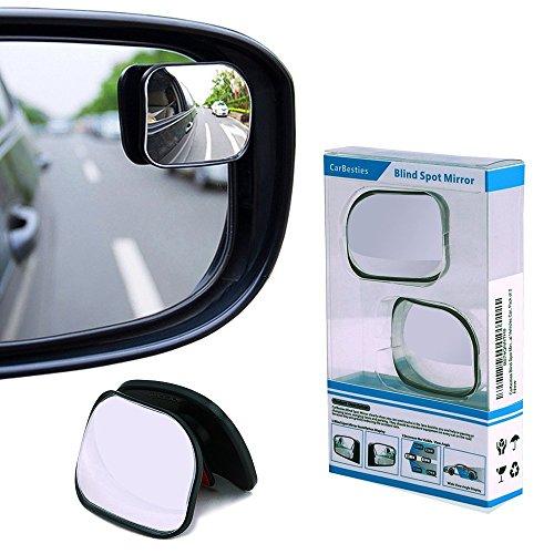 Preisvergleich Produktbild Carbesties Blindspots Spiegel, ihre innovativen Konstruktionen sind geeignet für alle Blindspots Konvexspiegel mit höherer Auflösung im Fahrzeug. (2 Stücke pro Verpackung)
