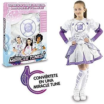 df0616bb98a2 Giochi Preziosi- Miracle Tunes Vestito/Costume, Colore Bianco/Viola, Tagli  Assortiti